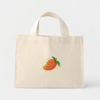 Bolsa Tote Mini Aguarela suculenta da fruta da manga