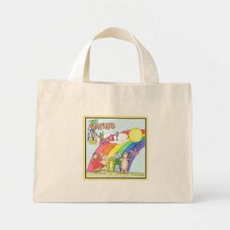 Bolsa Tote Mini Arco-íris e arte!