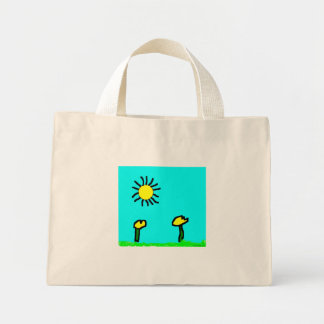 Bolsa Tote Mini Beijo do saco de Sun