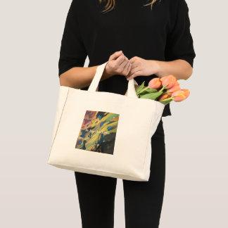 Bolsa Tote Mini Bonito inspirado colorido das rochas vibrantes