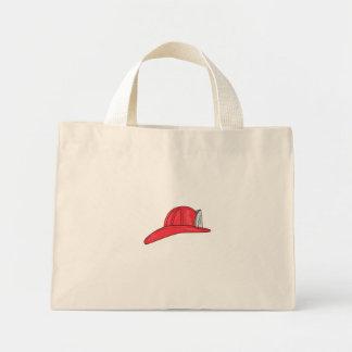 Bolsa Tote Mini Desenho do capacete do sapador-bombeiro do