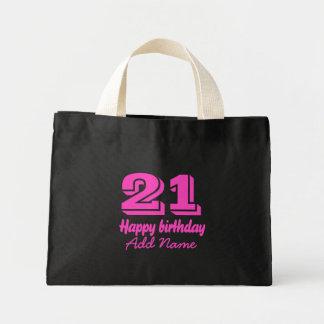 Bolsa Tote Mini Feliz aniversario 21