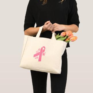 Bolsa Tote Mini Fita cor-de-rosa