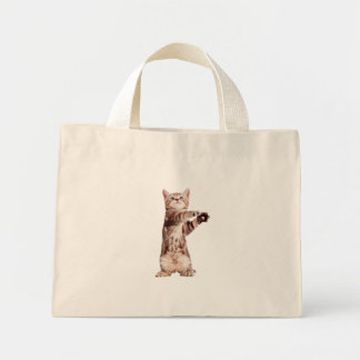 Bolsa Tote Mini Gato ereto - gatinho - animal de estimação -