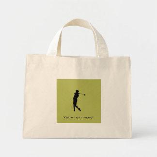 Bolsa Tote Mini Jogador de golfe
