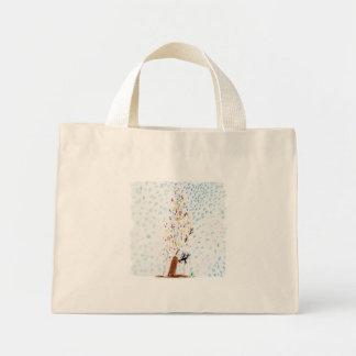 Bolsa Tote Mini Os desenhos do Tinca. Árvore de Natal