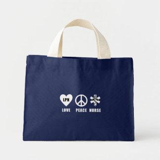 Bolsa Tote Mini Paz LPN do amor