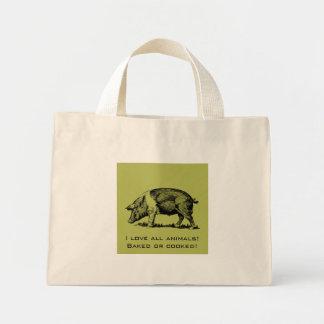 Bolsa Tote Mini Porco