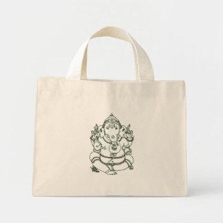 Bolsa Tote Mini Saco de Ganesha