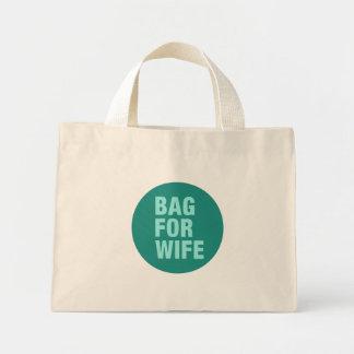 Bolsa Tote Mini Saco para a esposa