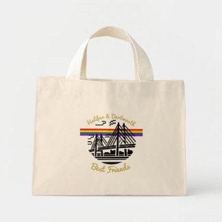 Bolsa Tote Mini Sacola dos amigos de Halifax Dartmouth do orgulho