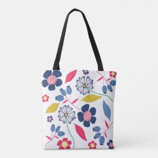 Bolsa Tote Mistério da sacola das estações floral