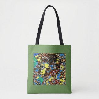 Bolsa Tote Mistura Siamese pintada