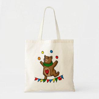 Bolsa Tote Mnanipulação do urso