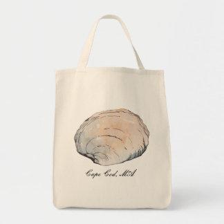 Bolsa Tote Moluscos Pastel personalizados Shell