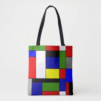 Bolsa Tote Mondrian #4