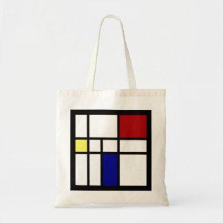 Bolsa Tote Mondrian inspirou o design