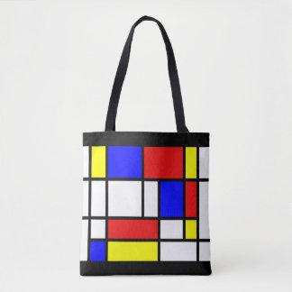 Bolsa Tote Mondrian - sacola das cores