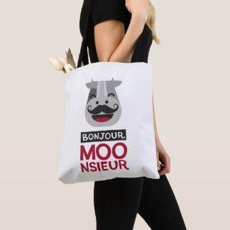 Bolsa Tote Monsieur de Bonjour