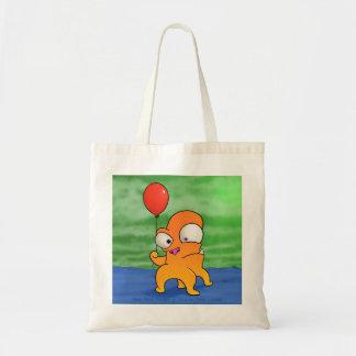 Bolsa Tote Monstro com balão, sacola
