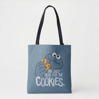 Bolsa Tote Monstro do biscoito | mim apenas aqui para os