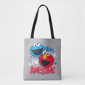 Bolsa Tote Monstro & Elmo do biscoito | yeah, eu sou
