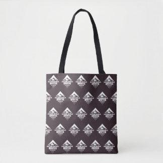 Bolsa Tote Montanha do Camelback (teste padrão escuro) -