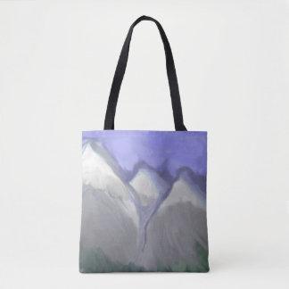 Bolsa Tote Montanhas rochosas de Colorado (aguarela abstrata)