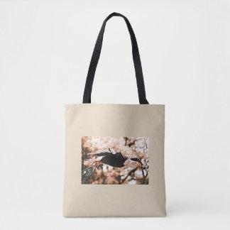 Bolsa Tote Mosca da águia americana como Eagle