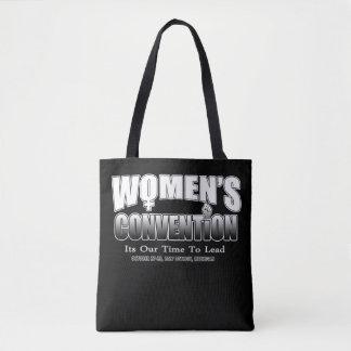 Bolsa Tote Movimento da convenção das mulheres - sacola de