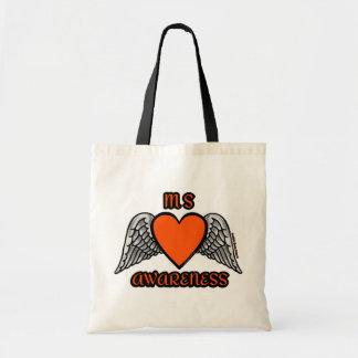 Bolsa Tote MS do coração/asas…