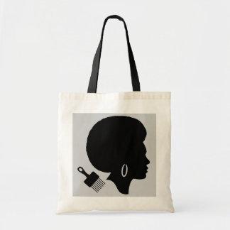 Bolsa Tote MULHER COM a sacola do orçamento do AFRO