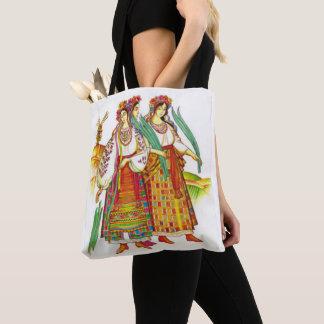 Bolsa Tote Mulheres ucranianas na sacola do vestido de Kyivan