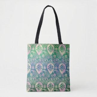 Bolsa Tote Multi Paisley colorido
