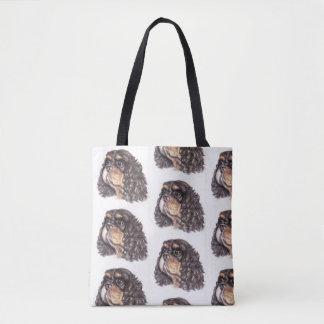 Bolsa Tote Multi sacola do impressão com máximo os Cavalier