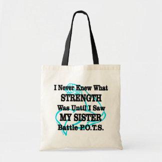 Bolsa Tote Muscle/I nunca conheceu… a irmã