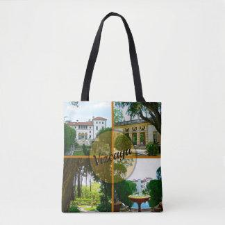 Bolsa Tote Museu de Vizcaya e jardim botânico Miami Florida