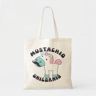 Bolsa Tote Mustachio Unicornio!