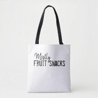 Bolsa Tote Na maior parte sacola dos petiscos da fruta