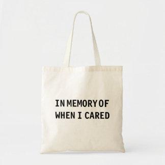 Bolsa Tote Na memória de