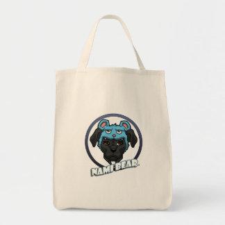 Bolsa Tote NamiBear o logotipo do pitbull