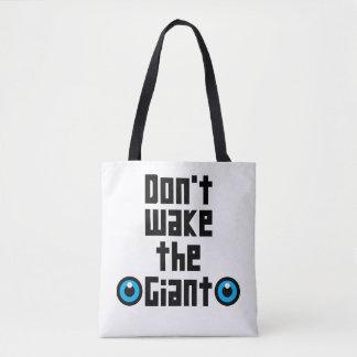 Bolsa Tote Não acorde o gigante