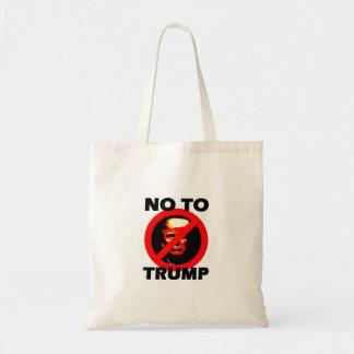 Bolsa Tote Não ao trunfo - saco