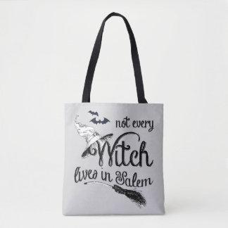 Bolsa Tote Não cada bruxa vive em Salem o Dia das Bruxas