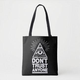 Bolsa Tote Não confie qualquer um
