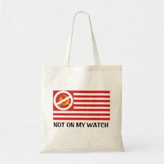 Bolsa Tote Não em meu relógio - sacola