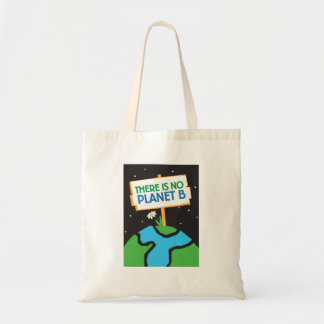 Bolsa Tote Não há nenhuma sacola do planeta B