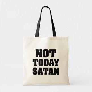 Bolsa Tote Não hoje a sacola das mulheres engraçadas da satã
