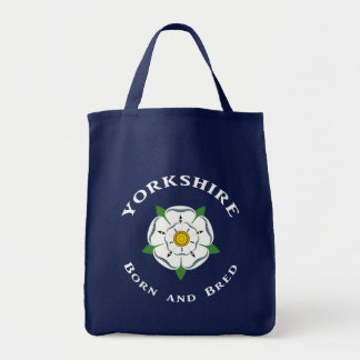 Bolsa Tote Nascer de Yorkshire e sacola produzida