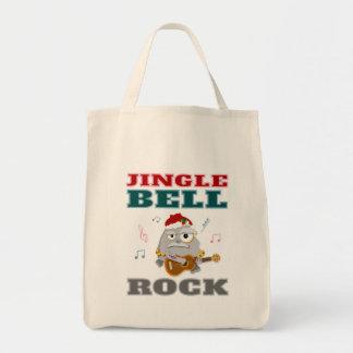 Bolsa Tote Natal engraçado de Jingle Bell RCartoon